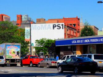 ロングアイランドシティ ニューヨーク MoMA PS1
