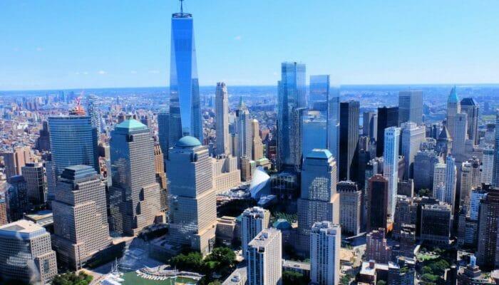 ニューヨーク ロウアーマンハッタン ファイナンシャルディストリクト