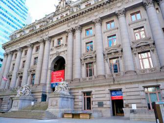 NYC ロウアーマンハッタン アメリカインディアン博物館