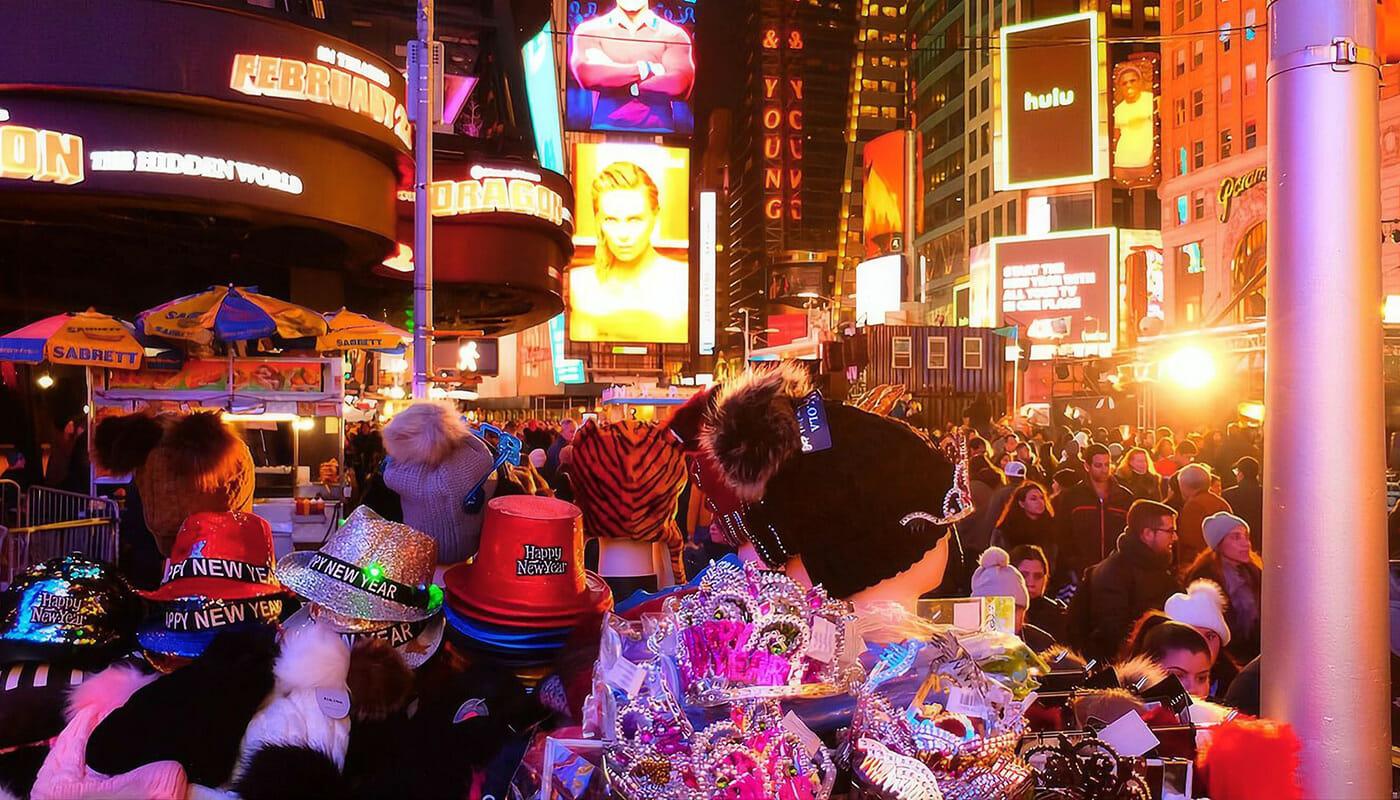 ニューヨーク 大晦日 - 装飾