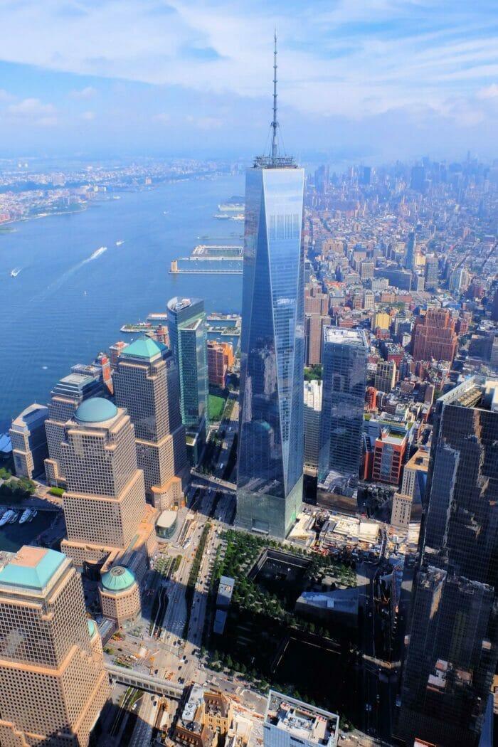 ニューヨーク ワンワールド 展望台 チケット - フリーダムタワー