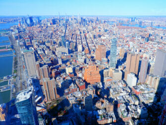 ワンワールド展望台 チケット - マンハッタンの眺め