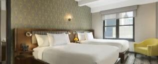 ニューヨークのエジソンホテル