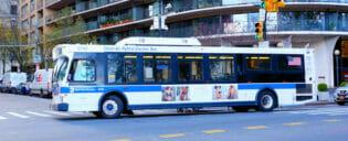 ニューヨークのバス