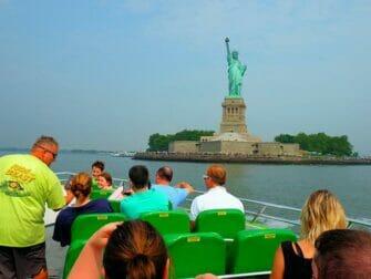 ニューヨーク サークルライン ビースト号 - スカイライン