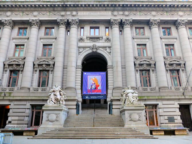 ニューヨーク 国立アメリカインディアン博物館
