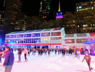 ニューヨーク スケート ブライアントパーク