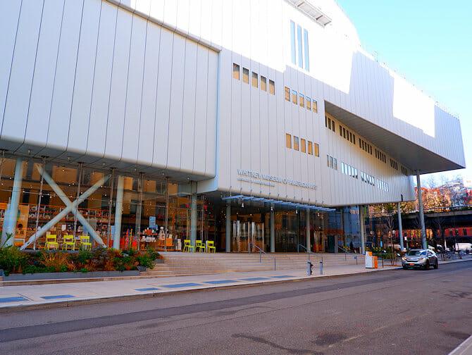 NYC ミートパッキングディストリクト ホイットニー美術館