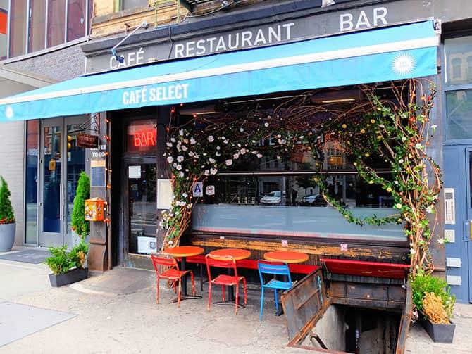 ニューヨーク ソーホー - カフェ セレクト