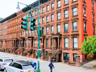 ニューヨークのハーレム - ブラウンストーン
