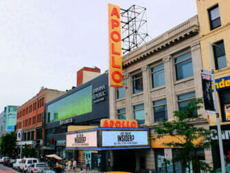 ニューヨークのハーレム アポロ劇場