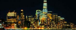 ニューヨーク ビュッフェ ディナークルーズ