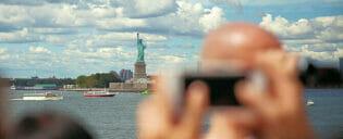 ニューヨークでの写真撮影