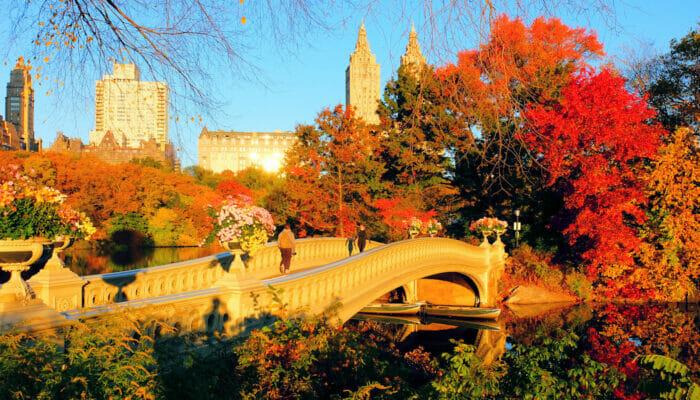 ニューヨークの気候 - 秋