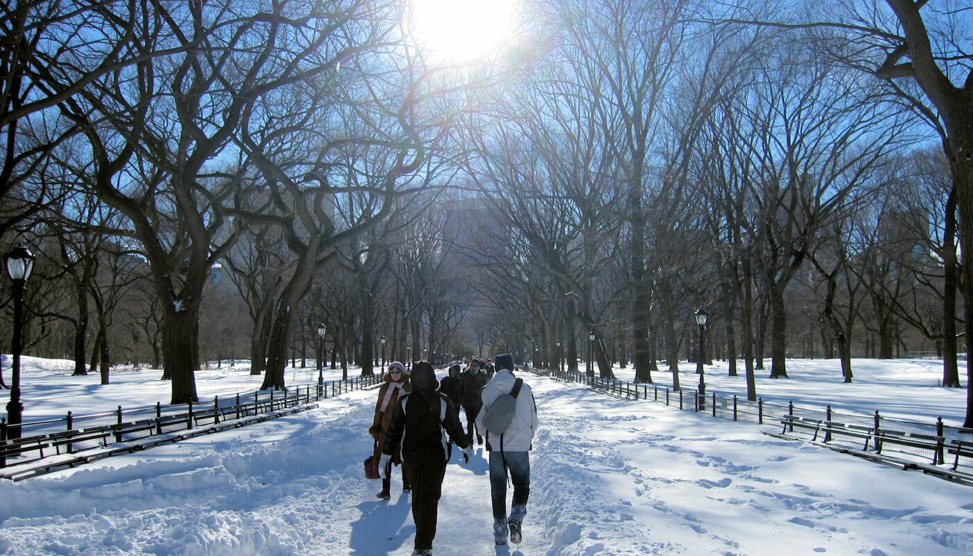 ニューヨーク 気候 - 冬