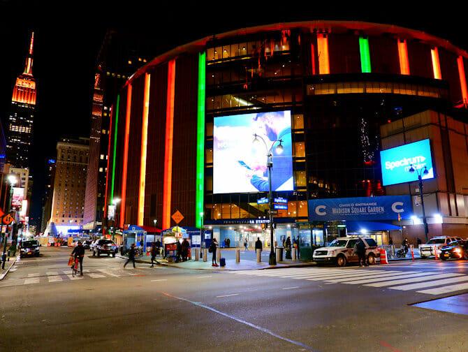 ニューヨーク マディソンスクエアガーデン - 外観