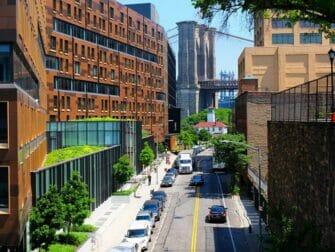 ブルックリンブリッジ スクイブブリッジからの眺め