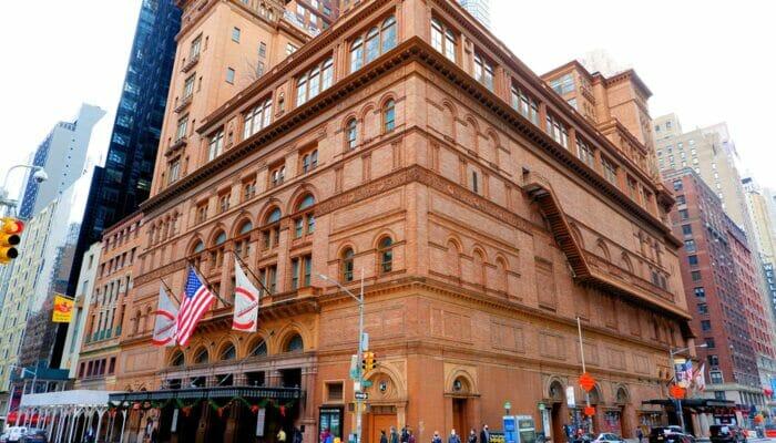 ニューヨーク カーネギーホール コンサートホール