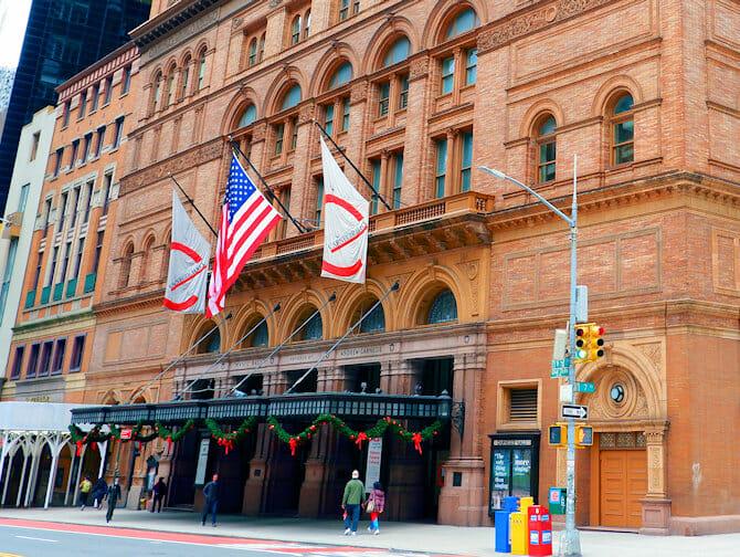 ニューヨーク カーネギーホール