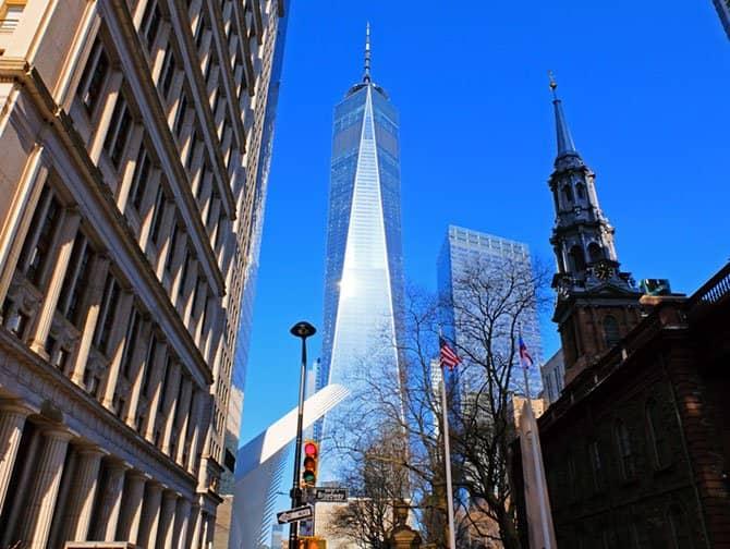 フリーダムタワー / 1ワールドトレードセンター - マンハッタンのダウンタウン
