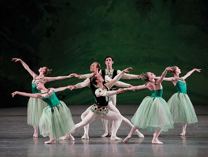 ニューヨーク バレエ チケット - 緑色のセレナーデ