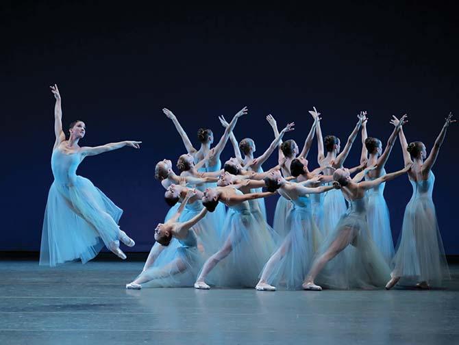 ニューヨーク バレエ チケット - セレナーデ