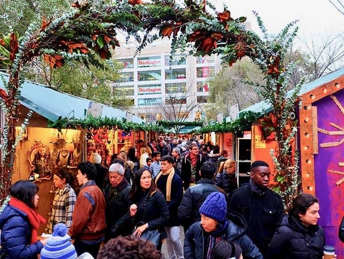 ニューヨーク マーケット - ユニオンスクエア クリスマスマーケット