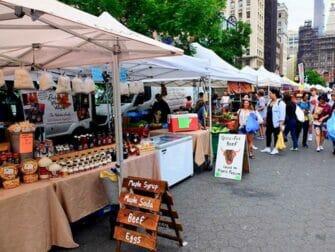 ニューヨーク マーケット - ユニオンスクエア グリーンマーケット