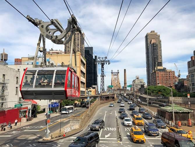 ニューヨーク ルーズベルトアイランドトラム - ケーブルカー