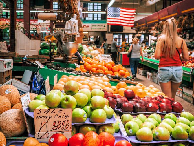 ブロンクスのイタリアンマーケット