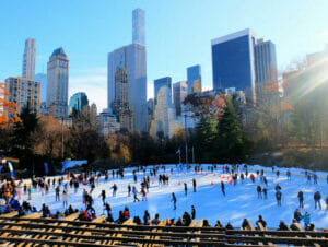 ニューヨーク セントラルパーク - ウォールマンリンクでのスケート