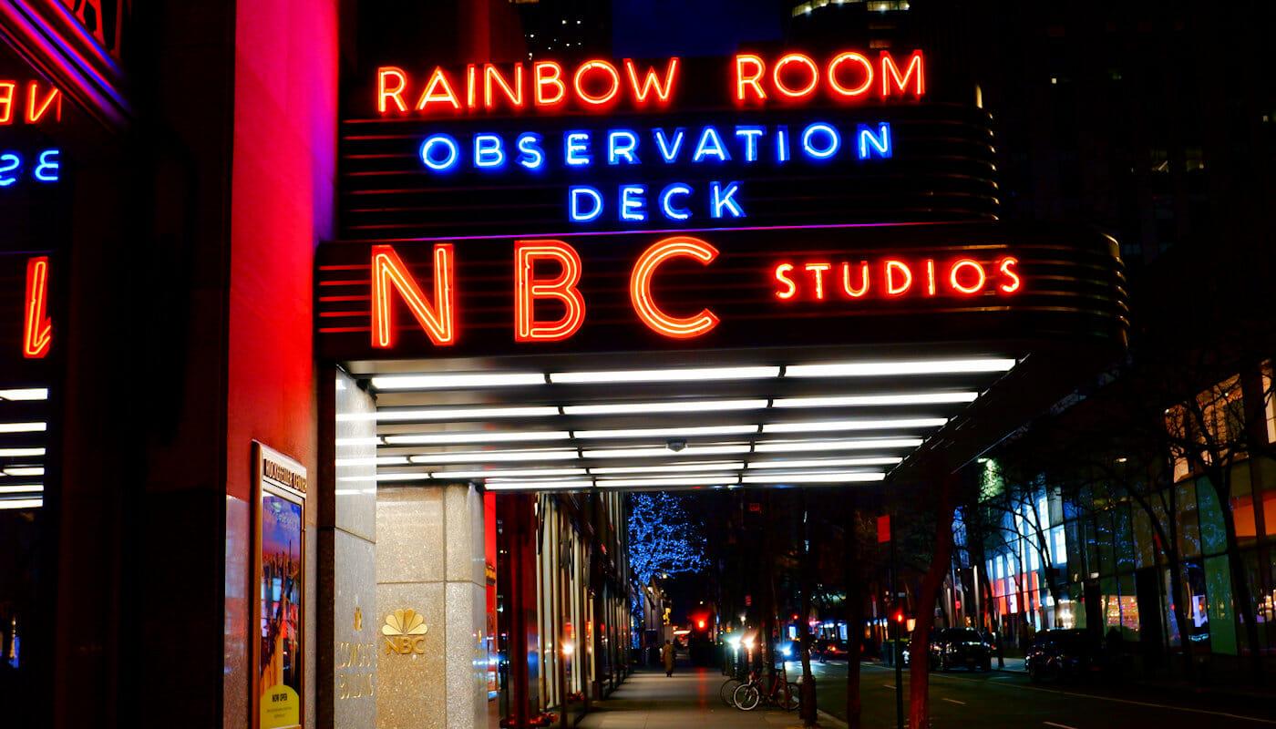 ニューヨーク ロックフェラーセンター - NBC