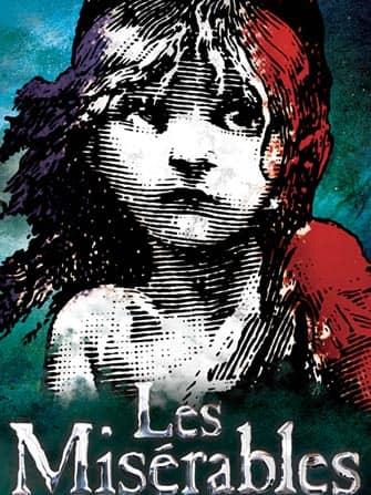 ニューヨークシティのミュージカル「レ・ミゼラブル」