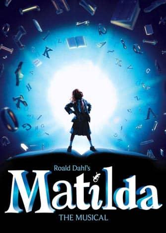 ミュージカル「マチルダ」のポスター
