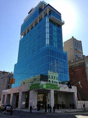 ニューヨークのホテル ウィンダムガーデンチャイナタウンの建物