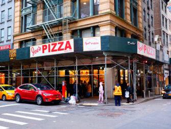 ニューヨークでいちばん美味しいピッツァ - ジョーズピッツァ