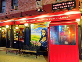 ニューヨークでいちばん美味しいピッツァ - ロンバルディーズ ピッツァ