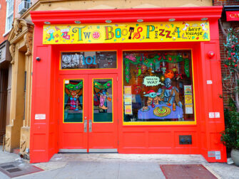 ニューヨークでいちばん美味しいピッツァ - トゥーブーツ