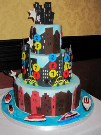 ニューヨーク カルロスベーカリー ケーキボス - 私たちのウェディングケーキ