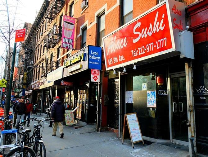 ニューヨーク 寿司 - Abace Sushi