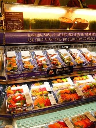 ニューヨーク 寿司 - ホールフーズ