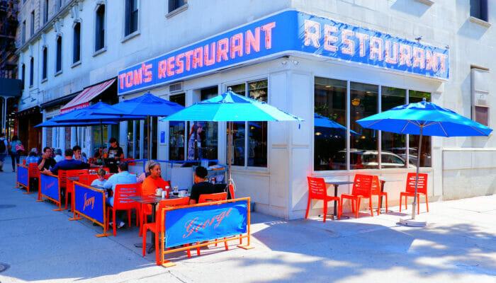 トムズレストラン ニューヨーク
