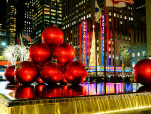 ニューヨーク クリスマスシーズン