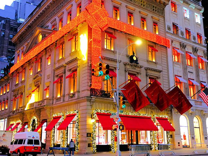 ニューヨーク クリスマスシーズン - カルティエ
