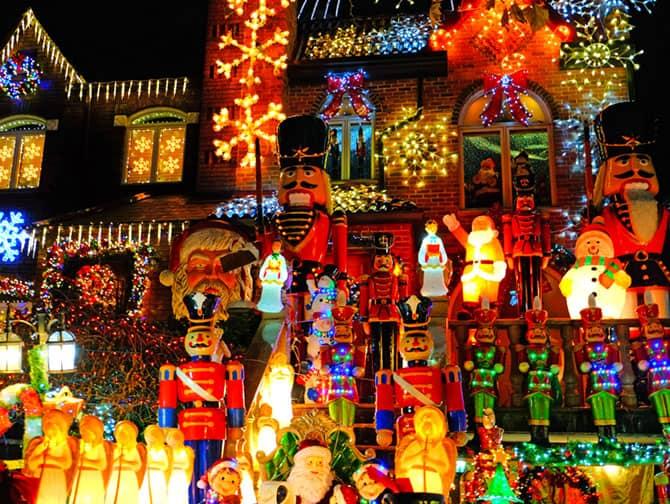 ニューヨーク クリスマスシーズン - ダイカーハイツ