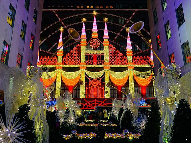 ニューヨーク クリスマスシーズン - サックス