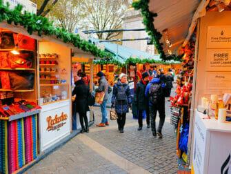 ニューヨーク マーケット - ブライアントパーク クリスマスマーケット