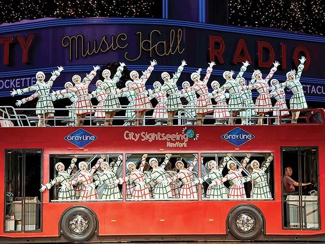 ラジオシティ クリスマス スペクタキュラー チケット - 観光バス