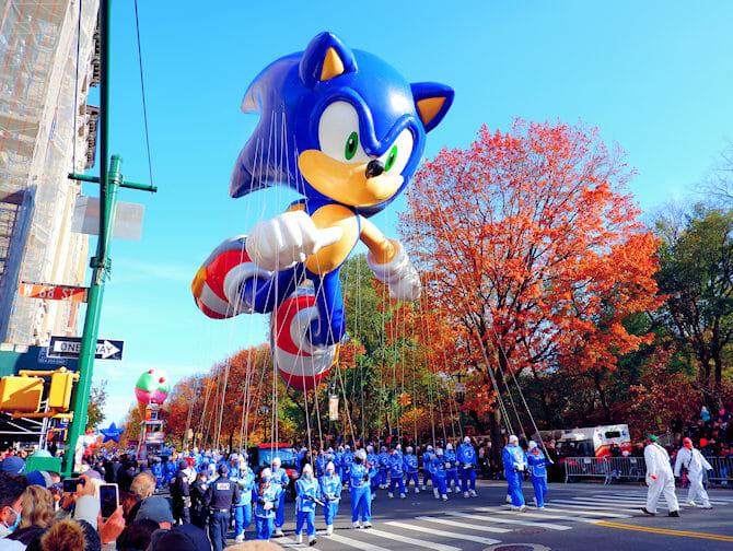 ニューヨーク サンクスギビング - メイシーズのパレード
