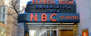 ニューヨーク NBCスタジオ